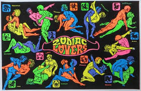 zodiac posters zodiac a 1975 137 black light poster nevermind gallery