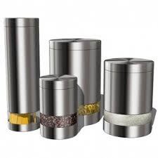 modern kitchen canisters kitchen canisters set foter