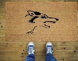 Coco Doormat Silhouette Doormat Etsy