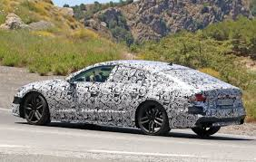 lexus vs audi a7 2018 audi s7 spied testing in the heat of southern europe