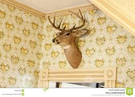 Stag Head Home Decor Home Design Stag Heads Decor Ebay Inside Deer Head Wall Mount 85