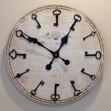 diy key decoration diy clock clocks and key