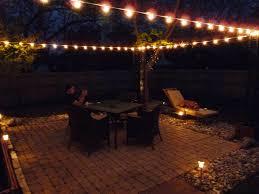 Exterior Patio Lights Lighting Outdoor Patio Lightingeas Photos Diy String Pinterest