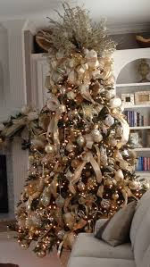 Planet Gold Decor Gold Cream And Champagne Themed Christmas Tree Works Perfectly In