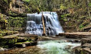 Montana waterfalls images Big sky montana lakes rivers waterfalls alltrips jpg