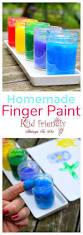 easy homemade diy kid friendly finger paints