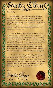 letters from santa letters from lapland