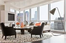 Accent Chairs For Living Room Contemporary Best Brown Accent Chairs With Flowers In Table Also Modern Led Tv
