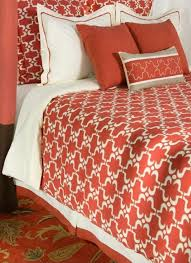 Orange And White Comforter Set Boy Bedding Sets Orange Tokida For