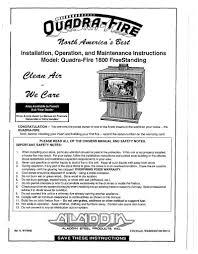 quadra fire 1800 user manual wood 1800 wood u2013 woodheatstoves com