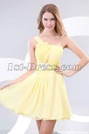 beautiful graduation dresses yellow one shoulder pretty graduation dresses 1st dress