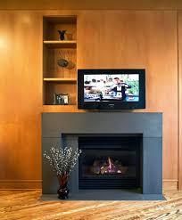 modern tv above fireplace design ideas living room designs beside