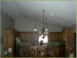 overhead kitchen lighting ideas decorativeative above kitchen cabinets with vaulted ceiling home