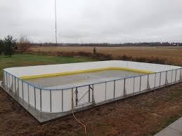 Backyard Hockey Rink Kit by Backyard Synthetic Ice Rink D Backyard Rinks Synthetic Ice