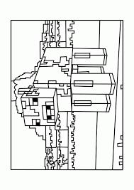 minecraft mooshroom coloring pages free printable