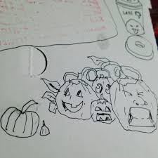 Tolay Pumpkin Patch Petaluma by Gerald U0027s Sketch Journal