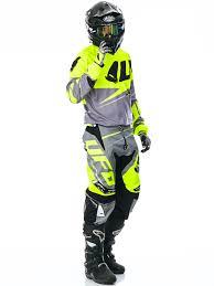 ufo motocross helmet ufo neon yellow grey 2017 revolt mx pant ufo freestylextreme