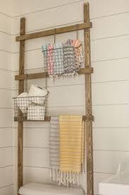 Decorative Hand Towels For Powder Room Shiplapped Half Bath Makeover
