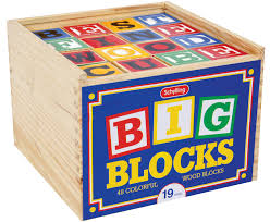 Wood Toy Box Instructions by Large Abc Wood Blocks
