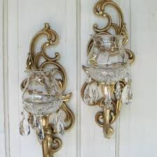 Gold Wall Sconce Candle Holder Decor U0026 Tips Spread Warmth To Your Space Using Candle Sconce