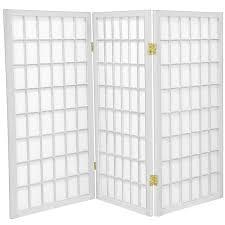 tall room dividers 3 ft tall window pane shoji screen roomdividers com