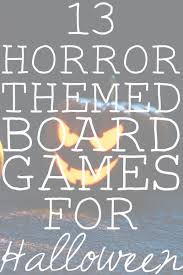 13 horror board games for halloween gray cat games