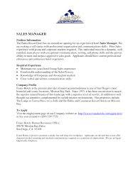 Resume Sle For sales resume ontario sales sales lewesmr