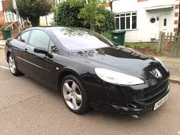 peugeot 407 coupe 2007 peugeot 407 coupe 2 0 hdi bellagio edition satnav full service