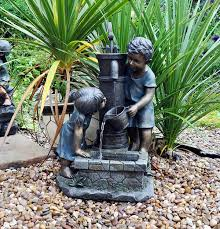 chic small water features for patios backyard patio and water