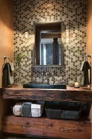 united states half bath designs powder room rustic with bathroom