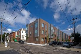 Modern Row Houses - as infill row house projects abound a designer weighs the issues