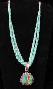 bead necklace with pendant images Native american turquoise beads necklace with pendant sterling jpeg