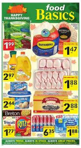 food basics flyer thanksgiving deals 2017
