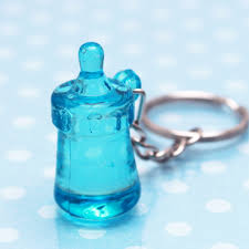 baby keychain baby shower baby bottle keychain favors baby shower favors and