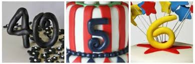 how to make fondant number cake toppers rose bakes