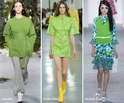 color of the year 2017 fashion spring summer 2017 color trends greenery spring summer and spring