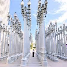 furniture los angeles street lights art lamp post museum los