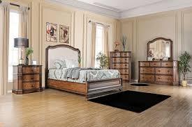Upholstered Headboard Bedroom Sets Von Furniture Emmaline Bedroom Set With Upholstered Headboard