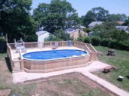 18x33 sharkline navigator aboveground pool with deck brothers 3