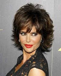 lisa rinna hair styling products short shag with highlights google search hello beautiful