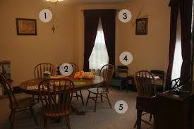 Fright Lined Dining Room Humblebee Home February 2014