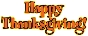 happy thanksgiving clip text clipart