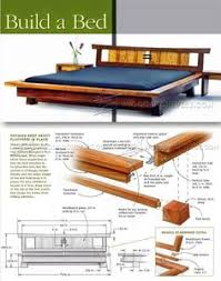 Free Woodworking Plans Bed With Storage by Build A Bed With Storage U2013 Canadian Home Workshop Ideas