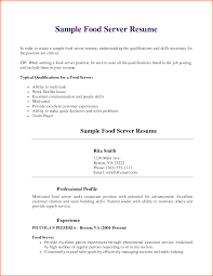 resume examples for fast food resume format download pdf resume
