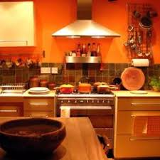 orange kitchen ideas burnt orange kitchen decor great use of orange in this kitchen