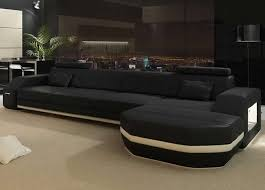 Best Leather Sectional Sofas Living Room Design Best Leather Sectional Sofas Part Iv Black
