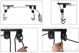 Bike Hanger Ceiling by Online Cheap Bike Bicycle Lift Ceiling Mounted Hoist Storage