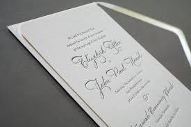 Making Your Own Wedding Invitations Elegant Letterpress Wedding Invitations Vertabox Com