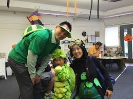 halloween family costume 2014 turtles grace ling yu