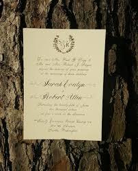 Monogram Wedding Invitations Gold Foil Monogram Wedding Invitation Suite Gold Wedding